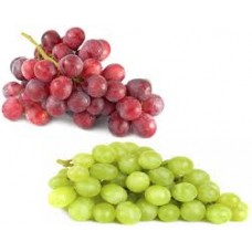 Green & Red Seedless Grapes 500gram - punnet